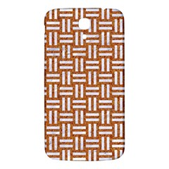 Woven1 White Marble & Rusted Metal Samsung Galaxy Mega I9200 Hardshell Back Case by trendistuff