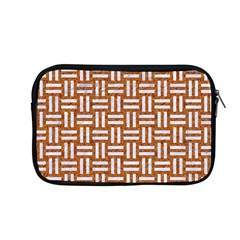 Woven1 White Marble & Rusted Metal Apple Macbook Pro 13  Zipper Case by trendistuff