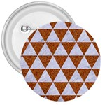 TRIANGLE3 WHITE MARBLE & RUSTED METAL 3  Buttons Front