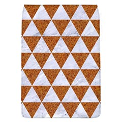 Triangle3 White Marble & Rusted Metal Flap Covers (l)