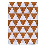 TRIANGLE3 WHITE MARBLE & RUSTED METAL Flap Covers (L)  Front