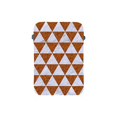 Triangle3 White Marble & Rusted Metal Apple Ipad Mini Protective Soft Cases