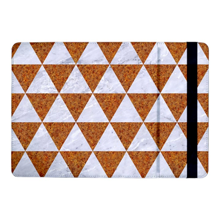 TRIANGLE3 WHITE MARBLE & RUSTED METAL Samsung Galaxy Tab Pro 10.1  Flip Case