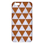 TRIANGLE3 WHITE MARBLE & RUSTED METAL iPhone 6 Plus/6S Plus TPU Case Front