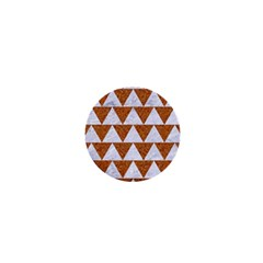 TRIANGLE2 WHITE MARBLE & RUSTED METAL 1  Mini Buttons