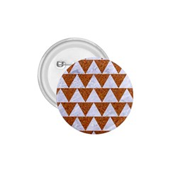 TRIANGLE2 WHITE MARBLE & RUSTED METAL 1.75  Buttons