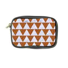 Triangle2 White Marble & Rusted Metal Coin Purse by trendistuff