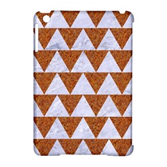 TRIANGLE2 WHITE MARBLE & RUSTED METAL Apple iPad Mini Hardshell Case (Compatible with Smart Cover)