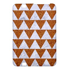 TRIANGLE2 WHITE MARBLE & RUSTED METAL Kindle Fire HD 8.9