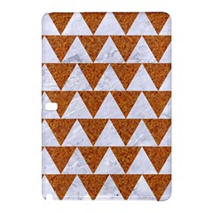TRIANGLE2 WHITE MARBLE & RUSTED METAL Samsung Galaxy Tab Pro 10.1 Hardshell Case