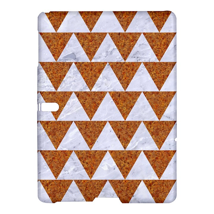 TRIANGLE2 WHITE MARBLE & RUSTED METAL Samsung Galaxy Tab S (10.5 ) Hardshell Case