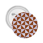 TRIANGLE1 WHITE MARBLE & RUSTED METAL 2.25  Buttons