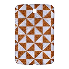 Triangle1 White Marble & Rusted Metal Samsung Galaxy Note 8 0 N5100 Hardshell Case