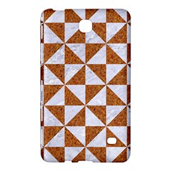 TRIANGLE1 WHITE MARBLE & RUSTED METAL Samsung Galaxy Tab 4 (8 ) Hardshell Case