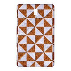 Triangle1 White Marble & Rusted Metal Samsung Galaxy Tab S (8 4 ) Hardshell Case
