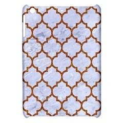 TILE1 WHITE MARBLE & RUSTED METAL (R) Apple iPad Mini Hardshell Case