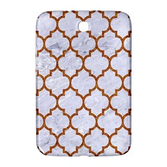 TILE1 WHITE MARBLE & RUSTED METAL (R) Samsung Galaxy Note 8.0 N5100 Hardshell Case