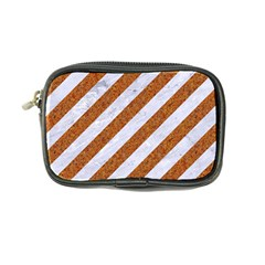 Stripes3 White Marble & Rusted Metal (r) Coin Purse by trendistuff