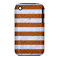 Stripes2white Marble & Rusted Metal Iphone 3s/3gs by trendistuff