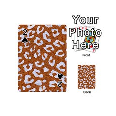 Skin5 White Marble & Rusted Metal (r) Playing Cards 54 (mini)  by trendistuff