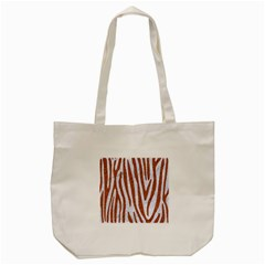 Skin4 White Marble & Rusted Metal Tote Bag (cream) by trendistuff