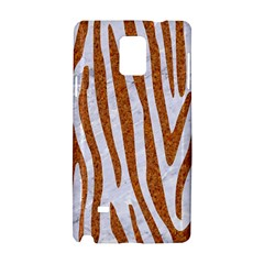 Skin4 White Marble & Rusted Metal Samsung Galaxy Note 4 Hardshell Case by trendistuff