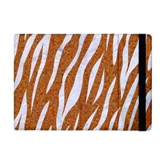 Skin3 White Marble & Rusted Metal Ipad Mini 2 Flip Cases by trendistuff