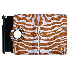 Skin2 White Marble & Rusted Metal Apple Ipad 2 Flip 360 Case by trendistuff