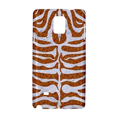 Skin2 White Marble & Rusted Metal Samsung Galaxy Note 4 Hardshell Case by trendistuff