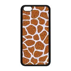 Skin1 White Marble & Rusted Metal (r) Apple Iphone 5c Seamless Case (black) by trendistuff