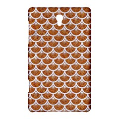 Scales3 White Marble & Rusted Metal Samsung Galaxy Tab S (8 4 ) Hardshell Case  by trendistuff