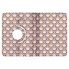 Scales2 White Marble & Rusted Metal (r) Kindle Fire Hdx Flip 360 Case by trendistuff
