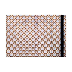 Scales2 White Marble & Rusted Metal (r) Ipad Mini 2 Flip Cases by trendistuff