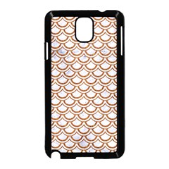 Scales2 White Marble & Rusted Metal (r) Samsung Galaxy Note 3 Neo Hardshell Case (black) by trendistuff
