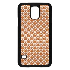 Scales2 White Marble & Rusted Metal Samsung Galaxy S5 Case (black) by trendistuff
