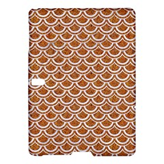 Scales2 White Marble & Rusted Metal Samsung Galaxy Tab S (10 5 ) Hardshell Case  by trendistuff