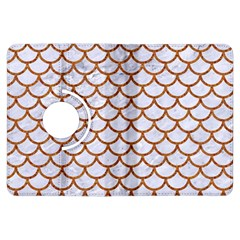 Scales1 White Marble & Rusted Metal (r) Kindle Fire Hdx Flip 360 Case by trendistuff