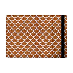 Scales1 White Marble & Rusted Metal Ipad Mini 2 Flip Cases by trendistuff