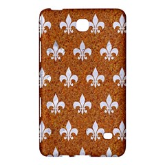 Royal1 White Marble & Rusted Metal (r) Samsung Galaxy Tab 4 (7 ) Hardshell Case  by trendistuff