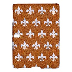 Royal1 White Marble & Rusted Metal (r) Samsung Galaxy Tab S (10 5 ) Hardshell Case  by trendistuff