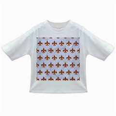 Royal1 White Marble & Rusted Metal Infant/toddler T Shirts by trendistuff
