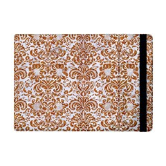 Damask2 White Marble & Rusted Metal (r) Ipad Mini 2 Flip Cases by trendistuff