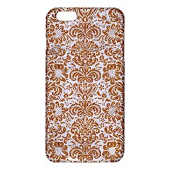 Damask2 White Marble & Rusted Metal (r) Iphone 6 Plus/6s Plus Tpu Case by trendistuff