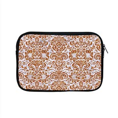 Damask2 White Marble & Rusted Metal (r) Apple Macbook Pro 15  Zipper Case by trendistuff
