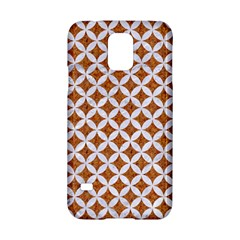 Circles3 White Marble & Rusted Metal Samsung Galaxy S5 Hardshell Case  by trendistuff