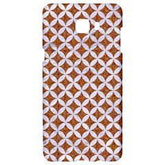 Circles3 White Marble & Rusted Metal Samsung C9 Pro Hardshell Case  by trendistuff