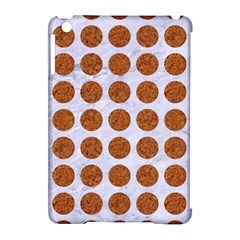 Circles1 White Marble & Rusted Metal (r) Apple Ipad Mini Hardshell Case (compatible With Smart Cover) by trendistuff