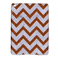 Chevron9 White Marble & Rusted Metal (r) Ipad Air 2 Hardshell Cases