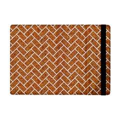 Brick2 White Marble & Rusted Metal Ipad Mini 2 Flip Cases by trendistuff