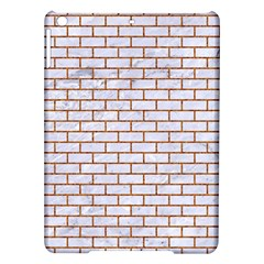 Brick1 White Marble & Rusted Metal (r) Ipad Air Hardshell Cases by trendistuff